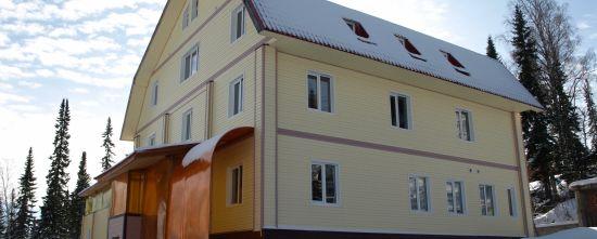 Гостиница Сибирь в Шергеше