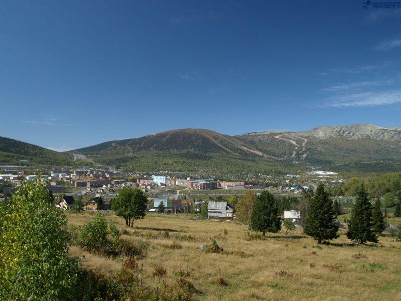 Гора Зеленая в Шерегеше,