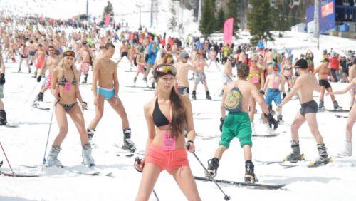Голые на сноуборде голые полные дамы