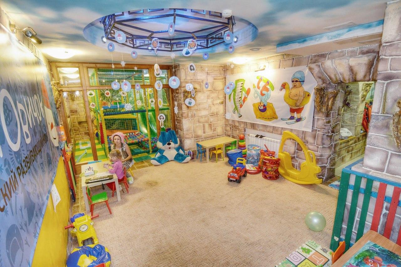 Развлекательная комната для детей фото